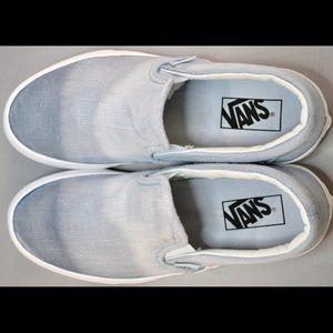 Vans Shoes - New Custom Vans Classic Slip-On (Blue ombré)